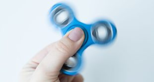 This cloud-connected fidget spinner takes uselessness to a whole new level
