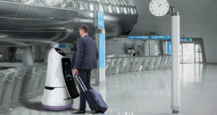 LG's friendly robots will help travelers at Seoul airport